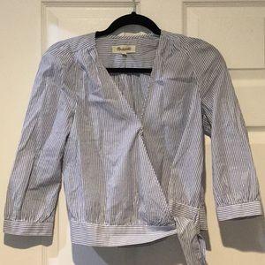 Madewell Wrap Shirt